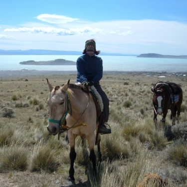 Long Ride to Lake Argentino