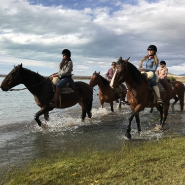 Horseback Riding in Estancia Alice